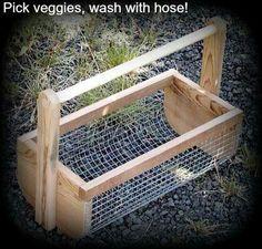 Nice.  Can rinse veggies off outside. Gotta make one.