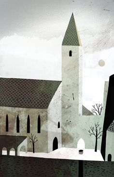 church from jon Klassen. I'm officially in love with his illustrations. So neat!