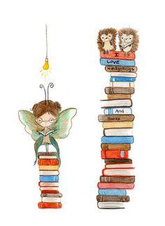 bookmarks by the poppy tree, via Flickr