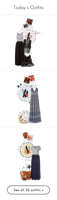 """Today's Outfits"" by giovanna1995 ❤ liked on Polyvore featuring WALL, The Unbranded Brand, Rimmel, BCBGeneration, Melissa Odabash, Chloe + Isabel, Splendid, Rebecca Taylor, Becca Cosmetics and Dorothy Perkins"