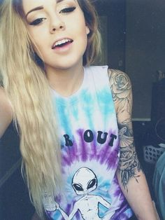sleeve tattoo without being gothic. LOVE