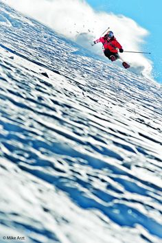 Carving it up - Daron Rahlves in Portillo, Chile    www.asportinglife.com #sportsphotography