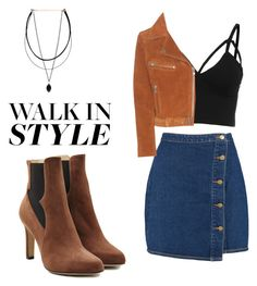 """""""Untitled #35"""" by shainaepil on Polyvore featuring Boohoo, Ganni and Paul Andrew"""