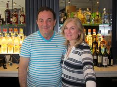 Jimmy and Luana Resulbegu, owners of Trattoria 141
