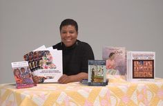 Kyra Hicks.  World-renowned expert on African American quilts and quilters!
