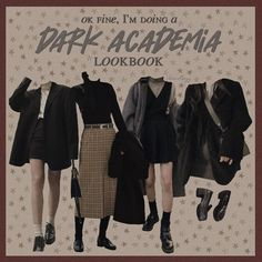 Mode Outfits, Retro Outfits, Grunge Outfits, Cute Casual Outfits, Vintage Outfits, Fashion Outfits, Aesthetic Fashion, Aesthetic Clothes, Looks Dark