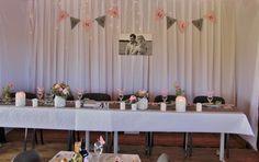 Wedding honorary table bröllop honörsbord