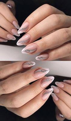 Pink Acrylic Nails, Pink Nail Art, Purple Nails, Classy Nail Designs, Toe Nail Designs, Minx Nails, Toe Nails, Gorgeous Nails, Pretty Nails