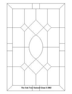 ★ Stained Glass Patterns for FREE ★ glass pattern 214 ★