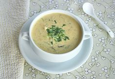 Tom Kha Gai (Thai Chicken Ginger Soup with Coconut Milk)