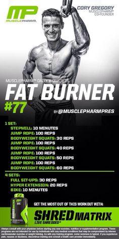 MP Fat Burner #77
