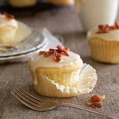 Maple Bourbon Cupcakes
