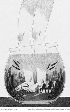 Anja Sušanj Interview Illustrator and Storyteller Interview Anja Suanj. Illustration art black and white drawing sketch.Illustrator and Storyteller Interview Anja Suanj. Illustration art black and white drawing sketch. Art And Illustration, Black And White Illustration, Illustrations And Posters, Monster Illustration, Illustration Techniques, Portrait Illustration, Fashion Illustrations, Black And White Drawing, Black White
