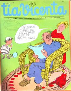 Revista Tía Vicenta. Segunda época. AÑO II, Nº 78, Mayo 4 de 1979. Landrú