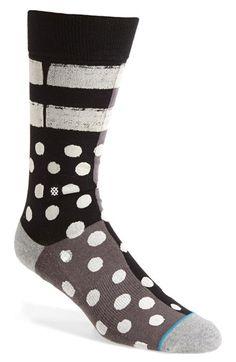 Stance 'Minor' Socks available at Warm Socks, Men's Socks, Dress Socks, Funky Socks, Colorful Socks, Cool Socks, Stance Socks, Mens Attire, Grown Man