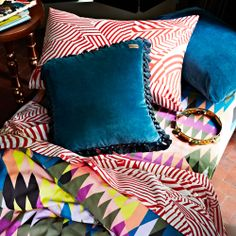 AW14 Teal Velvet Cushion cover – (1p) | Kip  Co