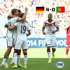 Germany Soccer Team Defeated Portugal