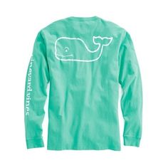 Shop Long-Sleeve Vintage Graphic T-Shirt at vineyard vines ($42) ❤ liked on Polyvore featuring tops, t-shirts, long sleeve pocket tee, long sleeve tee, vintage graphic t shirts, long sleeve cotton t shirts and vineyard vines t shirt