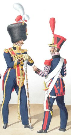 Saxony infantry regiment von rechten drum major 1810 for Portent of restoration