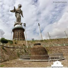 We invite you to see the Historic Center, the north and south of Quito and of course, in the middle of the city, is the hill of the Panecillo. On the Panecillo, the first thing you find when visiting this viewpoint is the Virgin of Quito, this sculpture is a large-scale copy of the sculpture of the Virgin of #Quito by Bernardo de Legarda the famous artist.