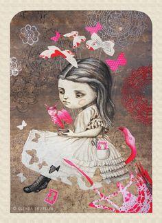 ALICE IN WONDERLAND BY GLENDA SBURELIN