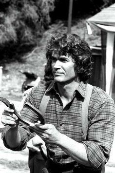 Michael Landon on Little House on the Prairie.