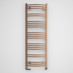 Terma Jade Galvanic Old Copper Towel Radiator (H)1149 (W)400 mm | Departments | DIY at B&Q