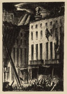 James Boswell 'The Fall of London: Through the City', 1933 © The estate of James Boswell