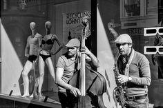 """"""" Jazz fans...."""" Photo Bernard Stoloff http://www.flickr.com/photos/bernard_stoloff/"""