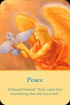 Orakelkaart: Vrede