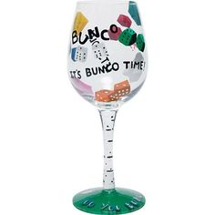 Bunco Wine Glass by Lolita >>> See this great product.Note:It is affiliate link to Amazon.
