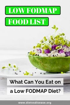Following low FODMAP diet plan and not sure what foods can you eat and which is better to avoid? Click the article for a complete low FODMAP food list, so that your meal planning becomes more easy & you know what should be on your grocery list. What is FODMAP Diet - Meal Plan Recipes | Benefits For Beginners | Elimination Phase Meals Guide | High Low Foods Menu | Gluten Free IBS Definition | Eating Out Explained | Vegan Lunch Snacks Breakfast Dessert Dinner Recipes Diet Chart Dietitian Nutri Low Fodmap Food List, High Fodmap Foods, Fodmap Meal Plan, Fodmap Recipes, Diet Recipes, Diet Meals, Vegetarian Recipes, Breakfast Dessert, Dessert For Dinner
