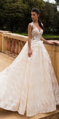Milla Nova Bridal 2017 Wedding Dresses mabela2 / http://www.deerpearlflowers.com/milla-nova-2017-wedding-dresses/4/