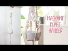 Macrame plant hanger how to diy tutorial craftiosity craft kit subscription Macrame Plant Hanger Patterns, Macrame Plant Holder, Macrame Patterns, Knitting Patterns, Cordon Macramé, Hanger Crafts, Diy Crafts, Tutorial Diy, Macrame Projects