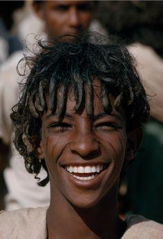 shinkhalai:  Beni-Amer boy. Tesseney, Eritrea. 1965. Photograph by James P. Blair.  ugcabile