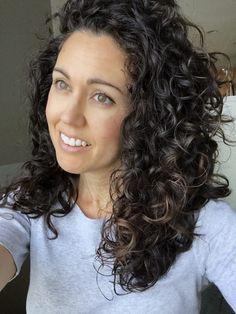 davines curly hair routine 2c 3a