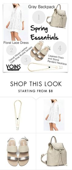 """YOINS"" by ladygroovenyc ❤ liked on Polyvore featuring McGuire, bag, gray, yoins and loveyoins"