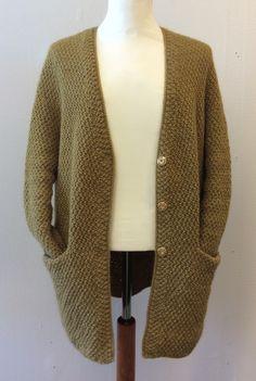 Creative Knitting, Cardigan Fashion, Cardigans, Sweaters, Knit Cardigan, Knitwear, Crochet, Stylish, Inspiration