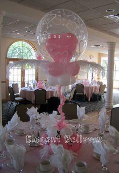 pretty in pink centerpiece. #balloon #art #princess #balloon #sculpture #princess #balloon #centerpiece #princess #balloon #column #princess #balloon #arch #princess #balloon #twist #princess #balloon #art #heart #centerpiece #balloon #sculpture #heart #centerpiece #balloon #centerpiece #heart #pink