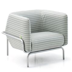 Milan 2012: London designers Doshi Levien have designed an armchair and sofa for Italian brand Moroso that's inspired by Modernist architect Le Corbusier and the Indian city of Chandigarh that he masterplanned in the 1950s.