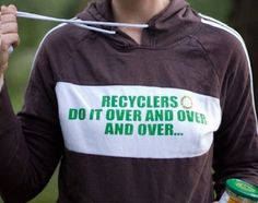 Five ways to recycle less