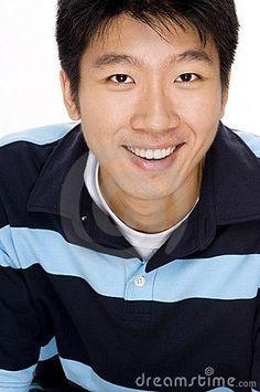 Portrait of Asian Man by Eastwest Imaging, via Dreamstime