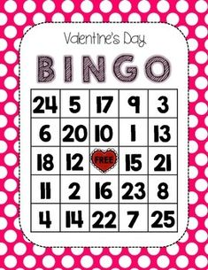 VALENTINE'S DAY BINGO - TeachersPayTeachers.com Valentines Day Activities, Valentines Day Party, Blank Bingo Cards, Bingo Set, Bingo Board, Miss You Mom, Holiday Games, Calling Cards, Group Activities