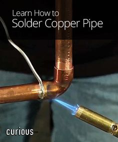 Beginning with how to light your torch, the lesson teaches you how to solder copper pipe. You'll soon be fixing your own plumbing with confidence!