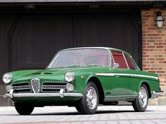 Alfa Romeo 2000 Vignale Coupe 1958–1961