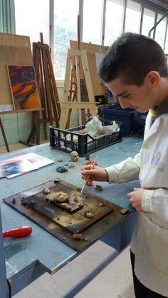 """Concorso Rotary 2016 """"Simboli e Inconscio"""" classe 1B, Laboratorio artistico. Liceo artistico Stagi Pietrasanta."""