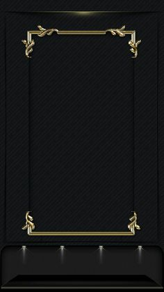 Black and gold Gold Wallpaper, Screen Wallpaper, Mobile Wallpaper, Cellphone Wallpaper, Iphone Wallpaper, Phone Backgrounds, Wallpaper Backgrounds, Name Card Design, Borders And Frames