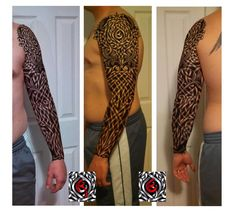✿ Tattoos ✿ Celtic ✿ Norse ✿ Celtic sleeve by shepush