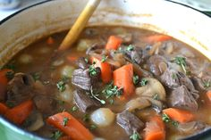 Beef Bourguignon - The View from Great Island