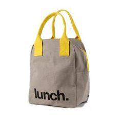 Organic Zip Lunch Bag - Lunch